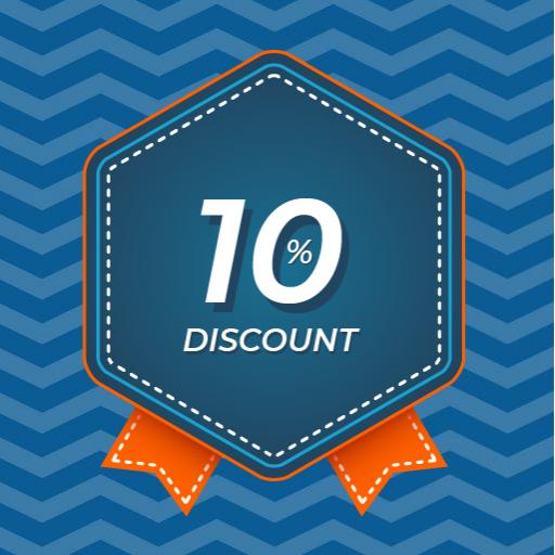 Pick up from EU get 10% OFF for 30-day reservation