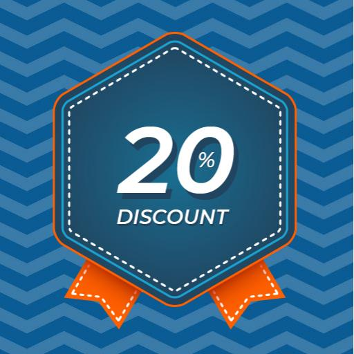 Pick up from the UK get 20% Off for 90-day reservation