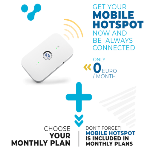 Get your Pocket Wi-Fi with our monthly plans and pay less!